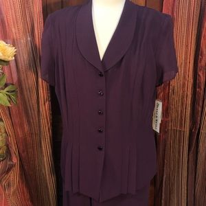 Danny and Nicole Two-Piece Skirt Suit NEW! w/ Tags
